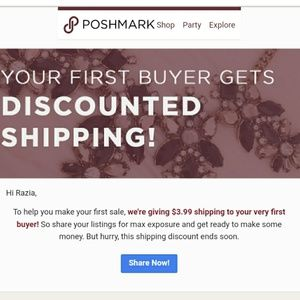 Other - First Buyer Wins Shipping Discount!!